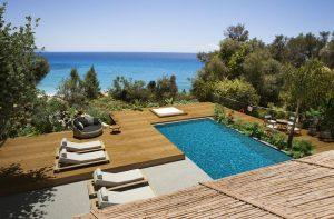 Cefalonia Lourdata Hotel piscina sul mare